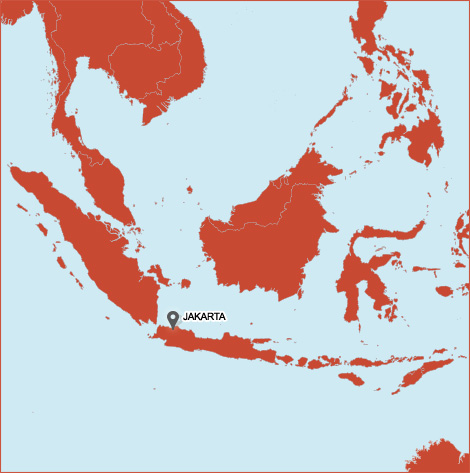 Indosol locations in Indonesia